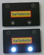 Beleuchtung Kellner Geldbörse - Münzfach - Wechselgeld Licht